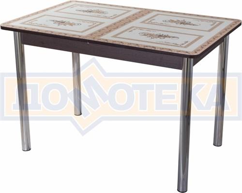 Стол со стеклом - Танго ПР ВН ст-72 02 ,венге - фото 6357