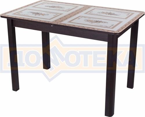 Стол со стеклом - Танго ПР ВН ст-72 04 ВН ,венге - фото 6358