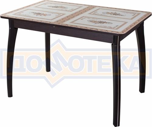 Стол со стеклом - Танго ПР ВН ст-72 07 ВП ВН ,венге - фото 6359