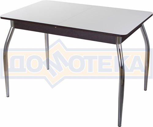 Стол со стеклом - Танго ПР ВН ст-БЛ 01 ,венге - фото 6360