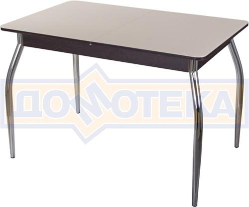 Стол со стеклом - Танго ПР ВН ст-КР 01 ,венге - фото 6365