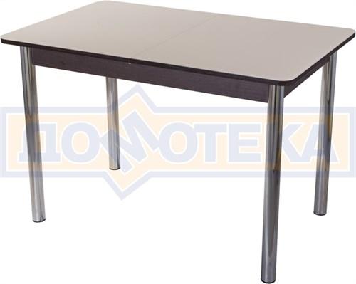 Стол со стеклом - Танго ПР ВН ст-КР 02 ,венге - фото 6366