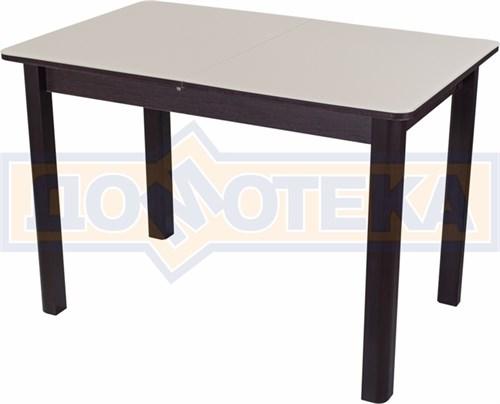 Стол со стеклом - Танго ПР ВН ст-КР 04 ВН ,венге - фото 6367