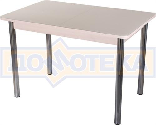 Стол со стеклом - Танго ПР МД ст-КР 02 ,молочный дуб - фото 6375