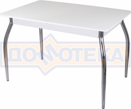 Стол со стеклом - Танго ПР-1 БЛ ст-БЛ 01 ,белый - фото 6385
