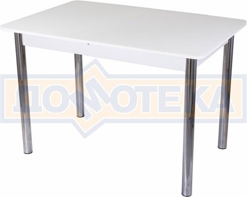 Стол со стеклом - Танго ПР-1 БЛ ст-БЛ 02 ,белый - фото 6386