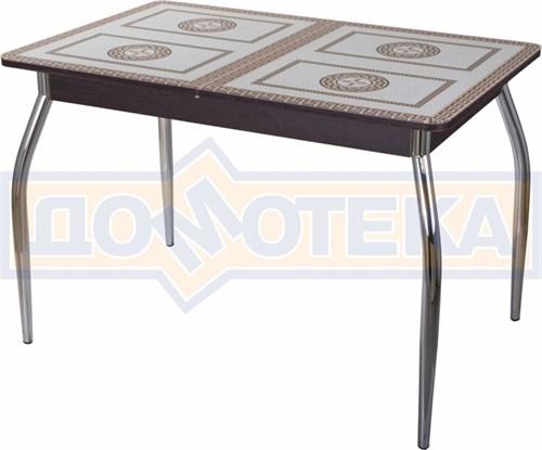Стол со стеклом - Танго ПР-1 ВН ст-71 01 ,венге - фото 6389