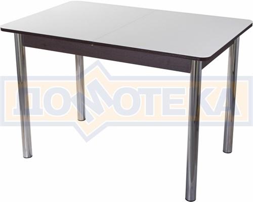 Стол со стеклом - Танго ПР-1 ВН ст-БЛ 02 ,венге - фото 6398