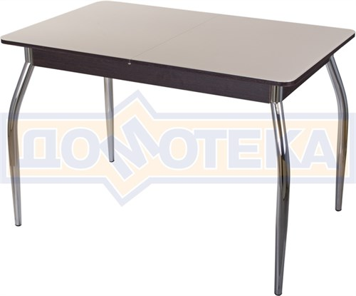 Стол со стеклом - Танго ПР-1 ВН ст-КР 01 ,венге - фото 6402