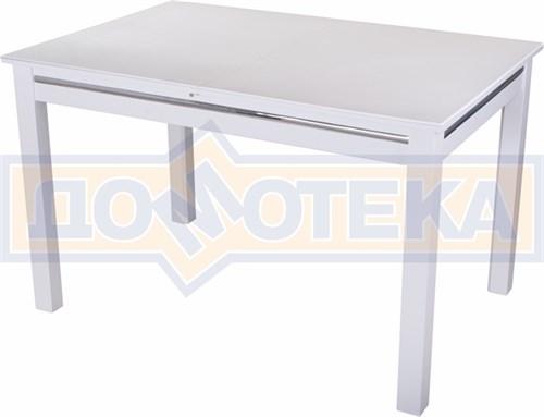Стол с камнем - Самба-1 КМ 04 БЛ 08 БЛ, белый - фото 6418