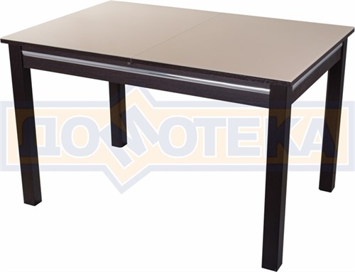 Стол со стеклом - Вальс-1 ВН ст-КР 08 ВН, венге - фото 6435