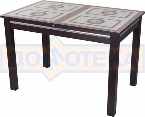 Стол со стеклом - Вальс-1 ВН ст-71 08 ВН, венге - фото 6438