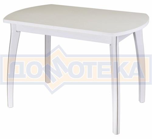Стол с камнем - Румба ПО КМ 04 БЛ 07 ВП БЛ ,белый - фото 6459