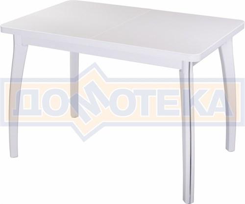 Стол с камнем - Румба ПР КМ 04 БЛ 07 ВП БЛ ,белый - фото 6466