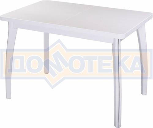 Стол с камнем - Румба ПР-1 КМ 04 БЛ 07 ВП БЛ ,белый - фото 6474