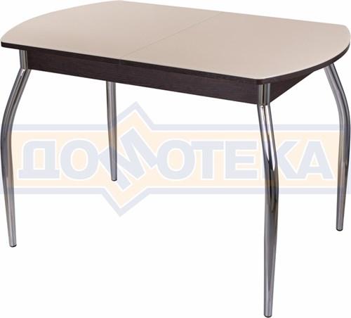 Стол со стеклом - Танго ПО-1 ВН ст-КР 01 ,венге - фото 6502