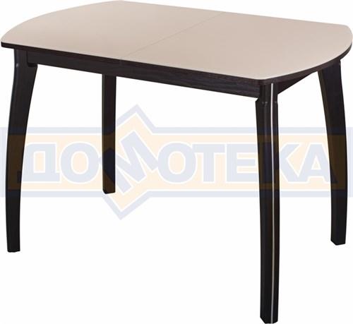 Стол со стеклом - Танго ПО-1 ВН ст-КР 07 ВП ВН ,венге - фото 6505