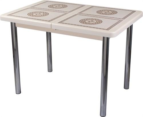 Стол с плиткой - Каппа ПР ВП КР 02 пл 52 ,крем - фото 6525