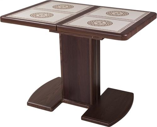 Стол с плиткой - Каппа ПР ВП ОР 05 ОР/ОР пл 52 ,орех - фото 6529