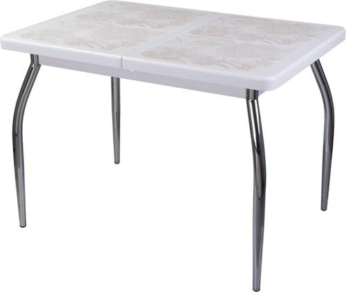 Стол с плиткой - Каппа ПР ВП БЛ 01 пл 32 ,белый - фото 6530