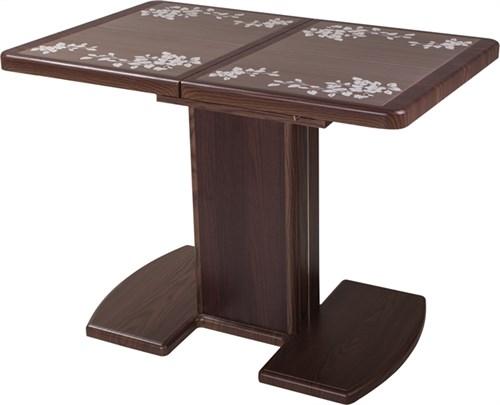 Стол с плиткой - Каппа ПР ВП ОР 05 ОР/ОР пл 44 ,орех - фото 6536
