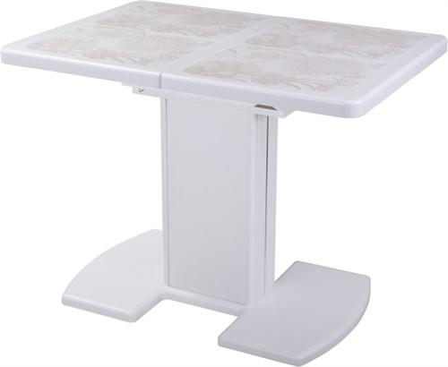 Стол с плиткой - Каппа ПР ВП БЛ 05 БЛ/БЛ пл 32 ,белый - фото 6537