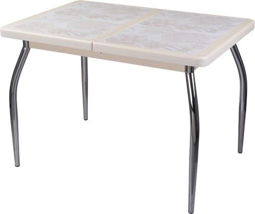 Стол с плиткой - Каппа ПР ВП КР 01 пл 32 ,крем - фото 6539
