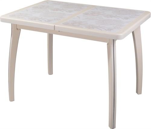 Стол с плиткой - Каппа ПР ВП КР 07 ВП КР пл 32 ,крем - фото 6541