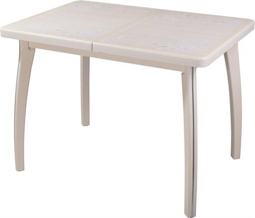 Стол с плиткой - Каппа ПР ВП КР 07 ВП КР пл 42 ,крем - фото 6544