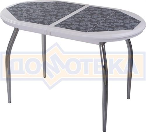 Стол кухонный с плиткой Шарди О БЛ пл 09 01 - фото 6690