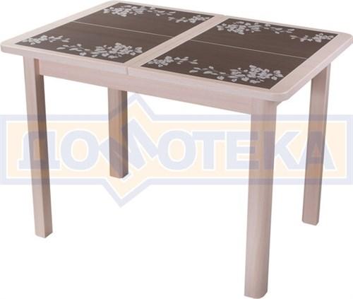 Стол кухонный Каппа ПР ВП МД 04 МД пл44, молочный дуб - фото 6805