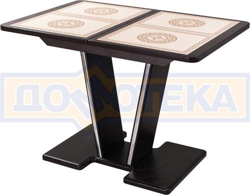 Стол с плиткой - Каппа ПР ВП ВН 03 ВН пл 52 ,венге - фото 6891