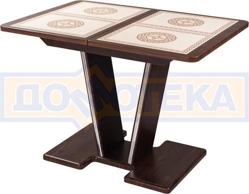 Стол с плиткой - Каппа ПР ВП ОР 03 ОР/ОР пл 52 ,орех - фото 6895
