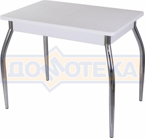Стол с камнем Румба ПР-М 04 БЛ 01, белый/камень белого цвета - фото 7217