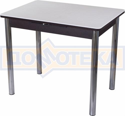 Стол с камнем Румба ПР-М 04 ВН 02, венге/камень белого цвета - фото 7220