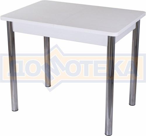 Стол с камнем Румба ПР-М 04 БЛ 02, белый/камень белого цвета - фото 7221