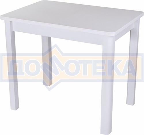 Стол с камнем Румба ПР-М 04 БЛ 04 БЛ, белый/камень белого цвета - фото 7225