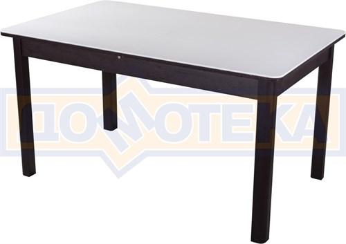 Обеденный стол с камнем Румба ПР-2 04/ВН 04 ВН венге / камень белого цвета - фото 7294