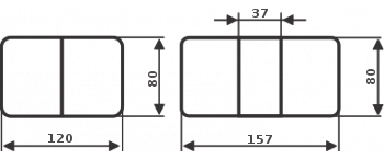 Стол со стеклом - Танго ПР-1 БЛ ст-71 02 ,белый - фото 7775