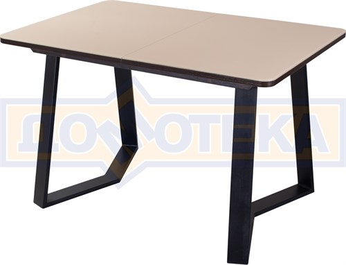 Стол со стеклом - Танго ПР-1 ВН ст-КР 92-1 ЧР - фото 8049