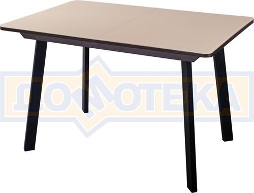 Стол со стеклом - Танго ПР-1 ВН ст-КР 93 ЧР - фото 8082
