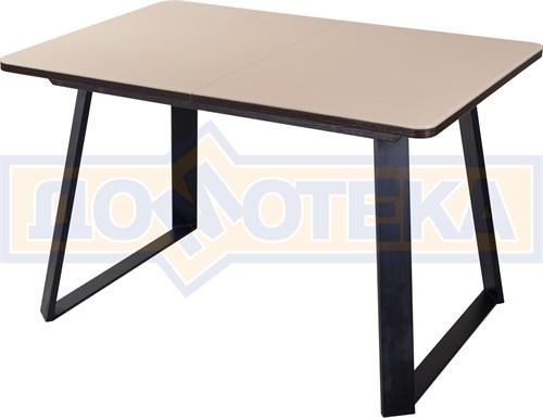 Стол со стеклом - Танго ПР-1 ВН ст-КР 91-1 ЧР - фото 8276