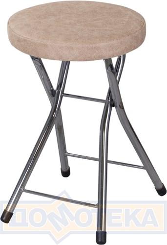 Кухонный табурет Соренто Z-5 бежевый, искусственная замша - фото 8726