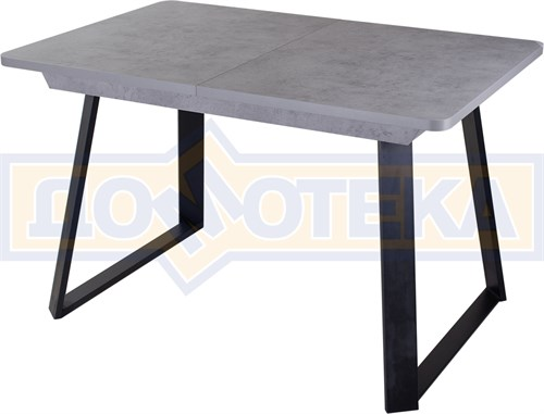 Стол Джаз ПР-1 СБ/СБ (Серый бетон) 91-1 ЧР - фото 8819