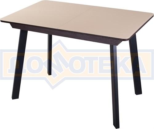 Стол со стеклом - Танго ПР ВН ст-КР 93 ЧР - фото 9269