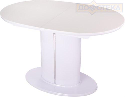 Стол с камнем - Румба О-1 на центральной ножке 04 БГ 06-1 БГ - фото 9499
