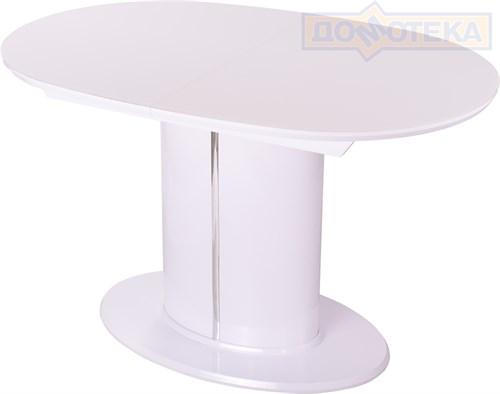 Стол со стеклом Болеро О-2 БГ ст-БЛ 06-1 БГ - фото 9581
