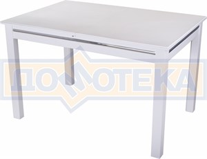 Стол обеденный Бета-1 04 БЛ 08 БЛ белый