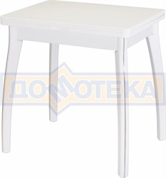 Стол кухонный Реал М-2 КМ 04 (6) БЛ 07 ВП БЛ белый