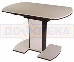 Стол кухонный Реал ПО (КМ 06 (6) ВН 05 ВП ВН/КР КМ 06 венге